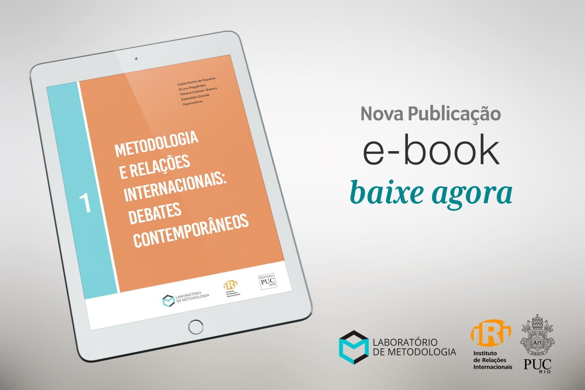 """Lançamento do livro """"Metodologia e Relações Internacionais: debates contemporâneos"""""""